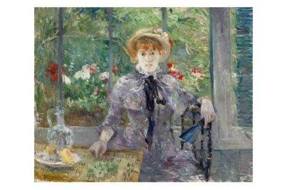 Berthe Morisot Après le déjeuner 1881