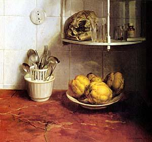 Isabel Quintanilla still life kitchen